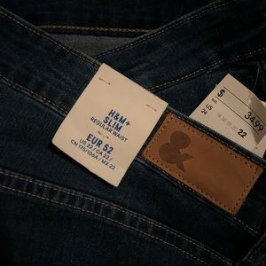 H&M+ slim fit jeans